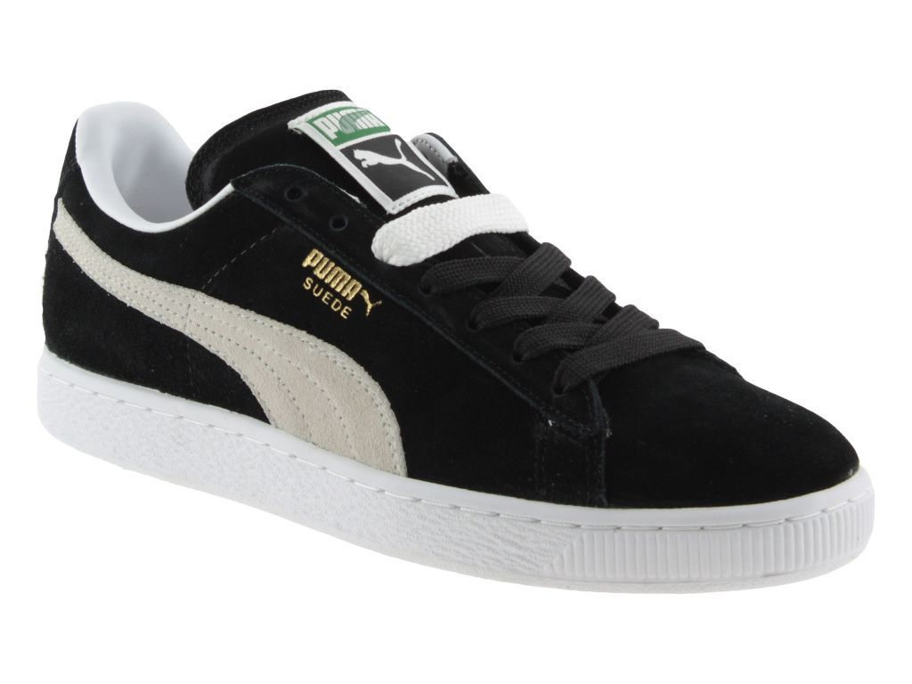 Puma Suede classic scarpe casual uomo nero modello 35263403
