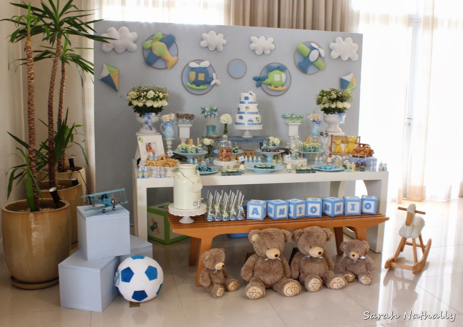 Encontrando Ideias: Decoração Chá de Bebê!!