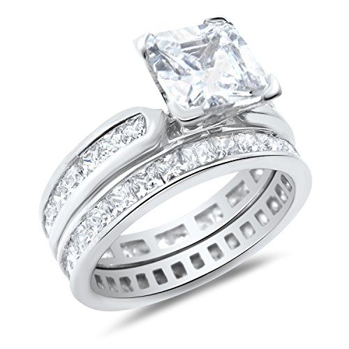 Ring Princess Cut Engagement