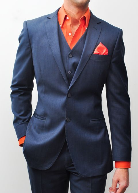 This super 160s Italian wool suit contains several layers of ...