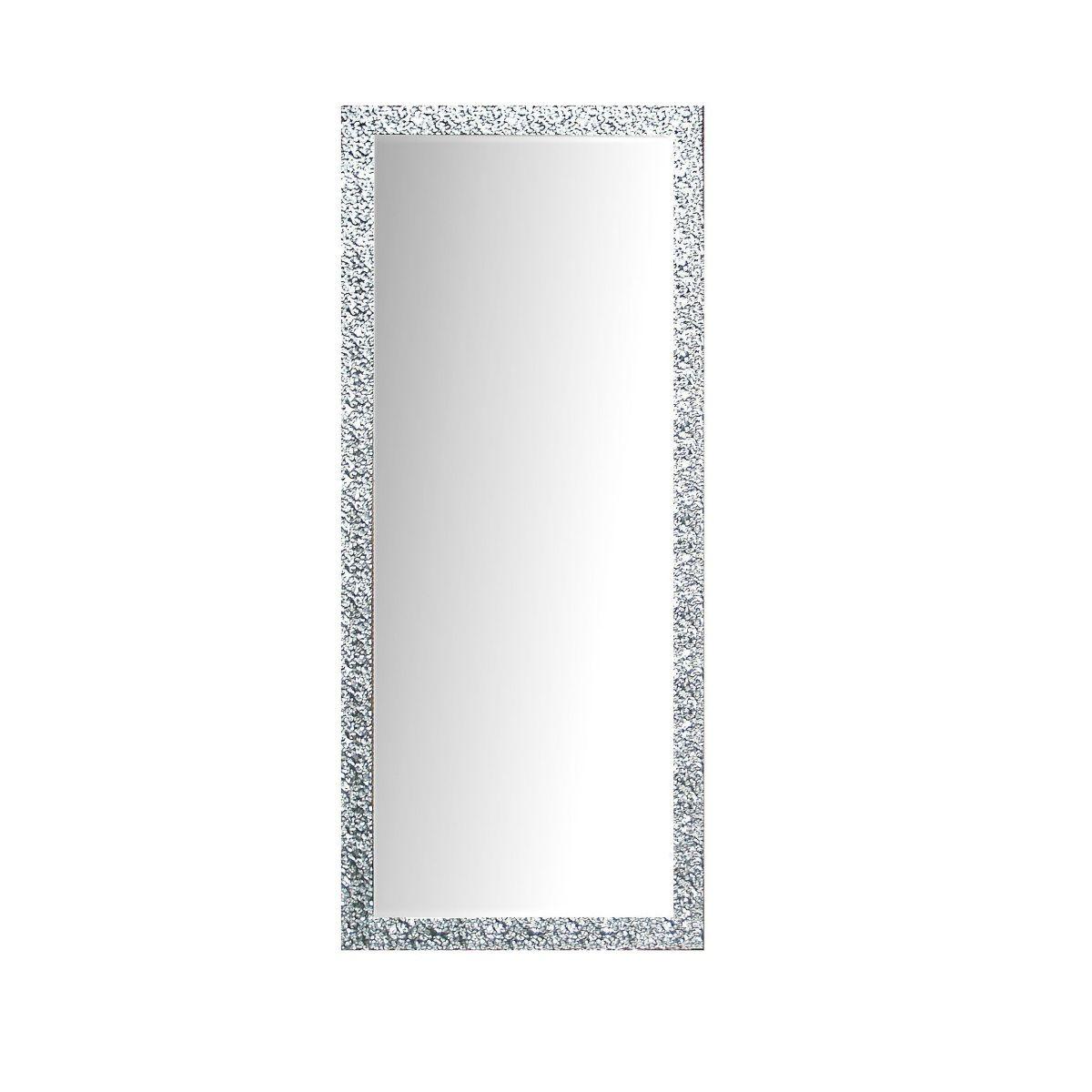 Wohnzimmer spiegelmöbel rahmenspiegel perth in silber spiegel flur garderobe  spiegel
