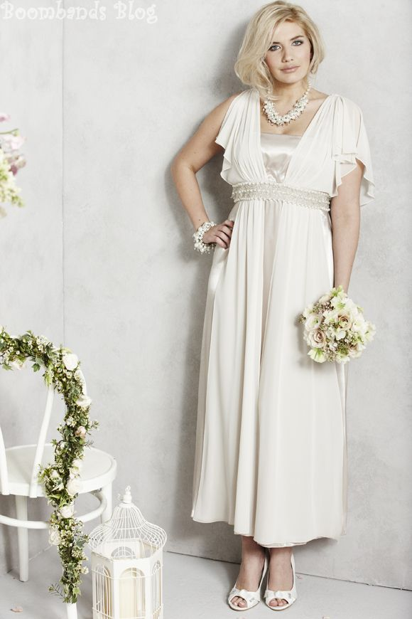 2b114a5a777 A Plus Size Wedding Dress from the new Bridal Collection at Simply Be. For  gorgeous