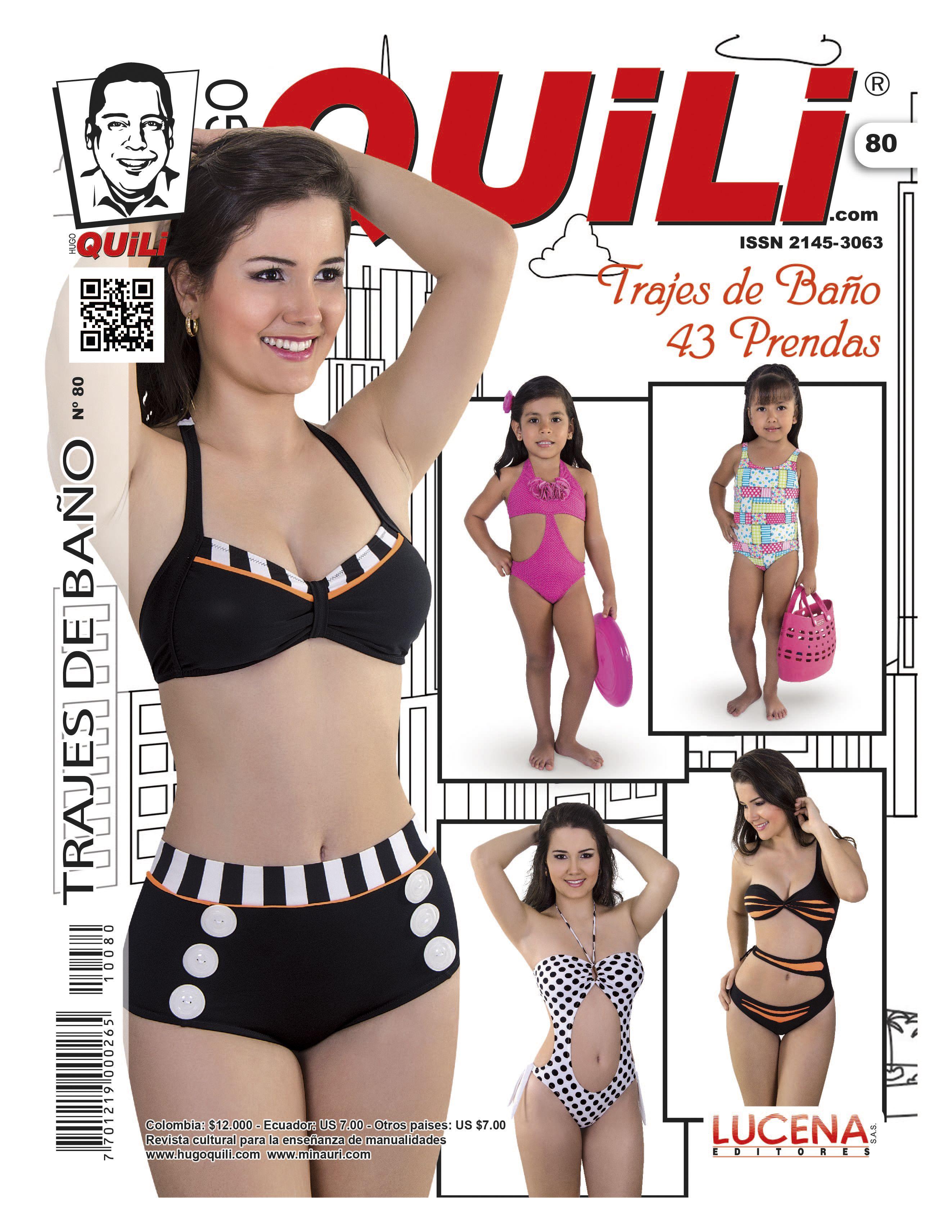 Revista Trajes de Baño No. 80  e4037fd4e3f9
