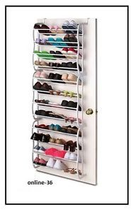36 t rregal h nger regal schuhregal schuhschrank schuhe t r ebay ideen shoe rack over. Black Bedroom Furniture Sets. Home Design Ideas