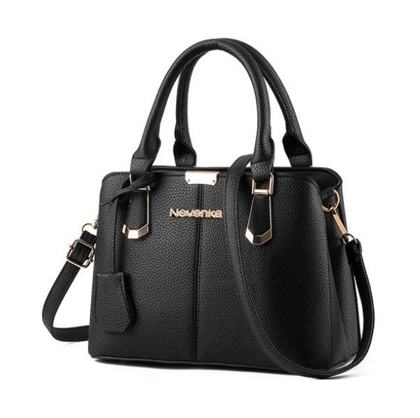 58c5770ab4 Nevenka Women Bag Big Handbag OL Style Shoulder Bags Casual Zipper  Messenger Bags PU Leather Tote