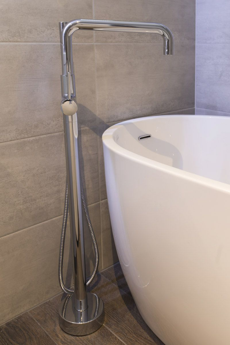 The Wave Freestanding Bath Shower Mixer Tap was the perfect comp ...