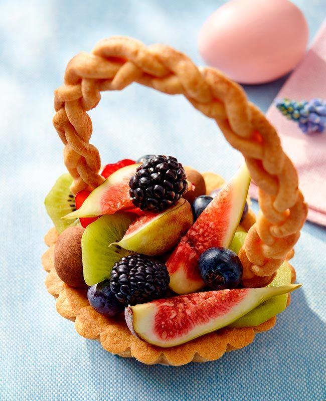 Wielkanocne Koszyczki Przepis Recipe Food Easter Raspberry