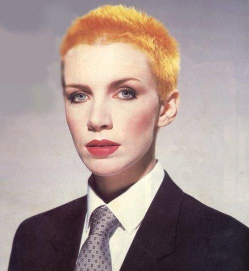 80s Female Rock Singers: Annie. The Most Inspiring, Short-haired Female Singer A