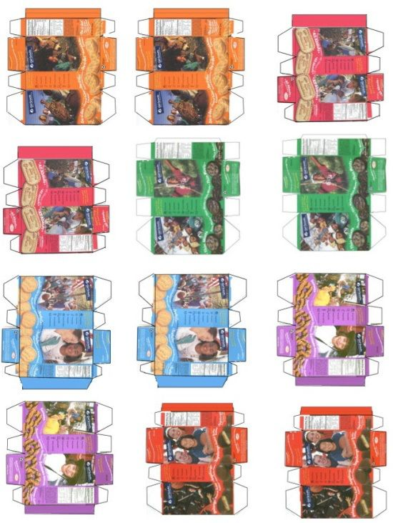 mini girl scout cookie boxes printable  don t know what to