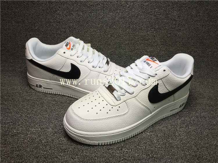 4db5b5ce Nike Air Force 1 Low White Black | Nike shoes | Nike air force men ...