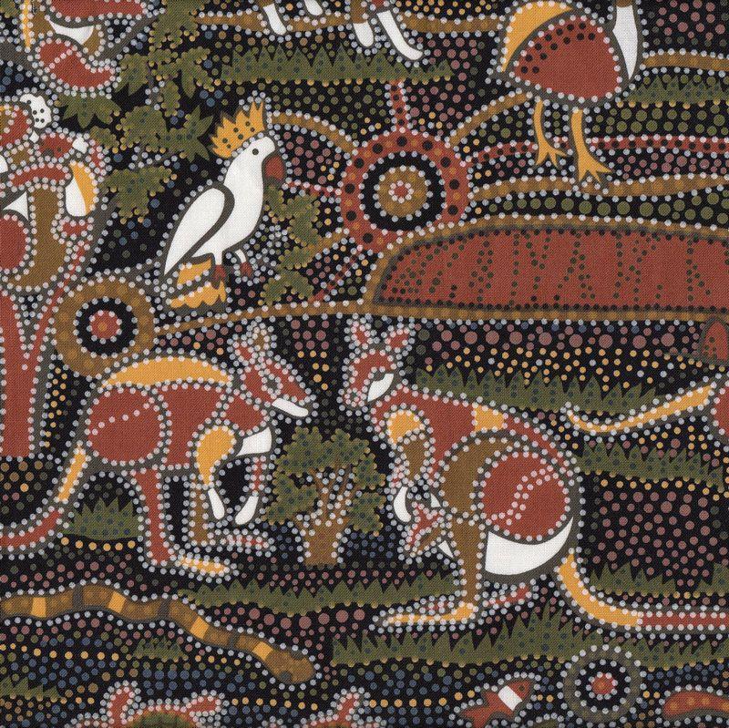 Australian Aboriginal Dreamtime Koala Kangaroo Quilt ...
