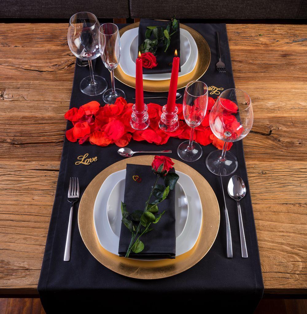 Pack hathor decoracion cena romantica cena romantica en - Noche romantica en casa ideas ...