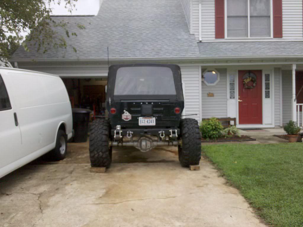 Tj On Full Width Axles Jeepforum Com Axle Jeep Tj Width