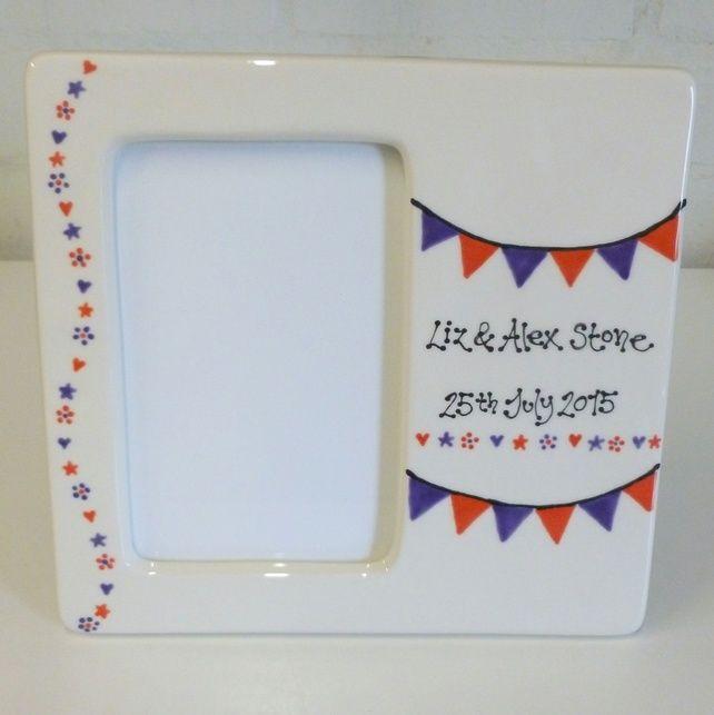 Personalised Wedding Photo frame £25.00