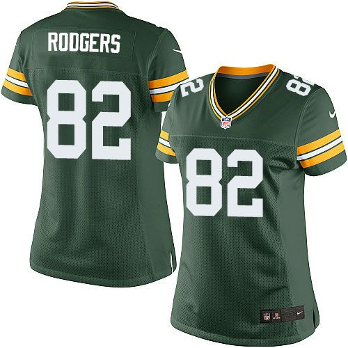 efaeeb988 Nike Limited Richard Rodgers Green Women s Jersey - Green Bay Packers  82  NFL Home