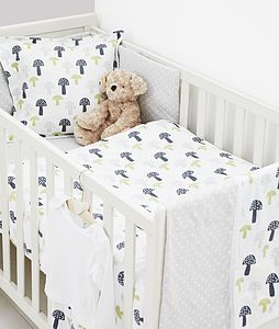 Baby Cotbed Per In Toadstool Design Special Offer Funky Nursery For Gorgeous Furniture Cot Bedding And Decoratio
