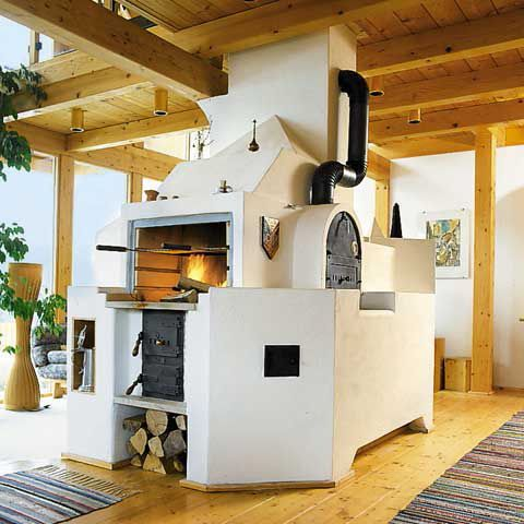 Ofen Weiss - Indoor Grill Anbau Pinterest Holzofen - ofen für wohnzimmer