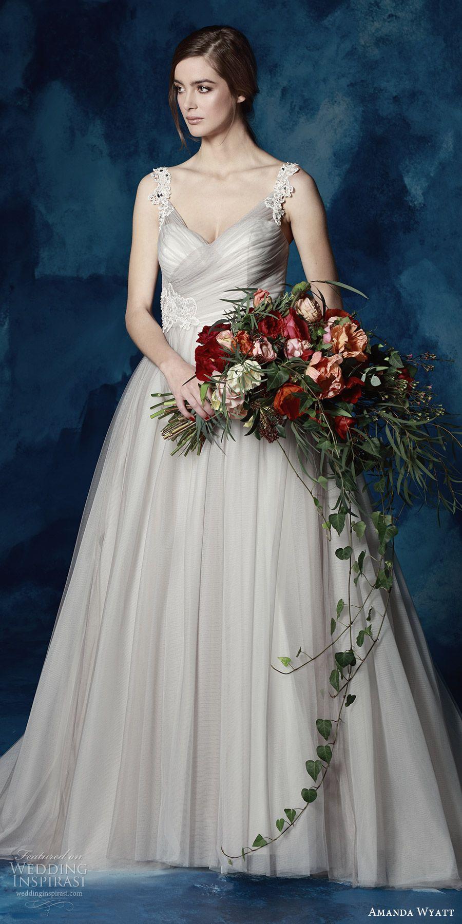 "Amanda Wyatt 2017 Wedding Dresses ""She Walks with Beauty"" Bridal Collection (North) #bridal #wedding #weddingdress #weddinggown #bridalgown #dreamgown #dreamdress #engaged #inspiration #bridalinspiration #weddinginspiration"