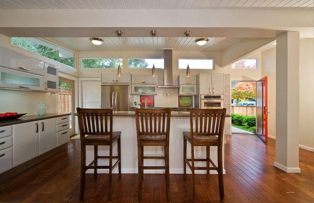 Palo Alto Eichler full remodel - traditional - kitchen - san francisco - Lucile Glessner Design