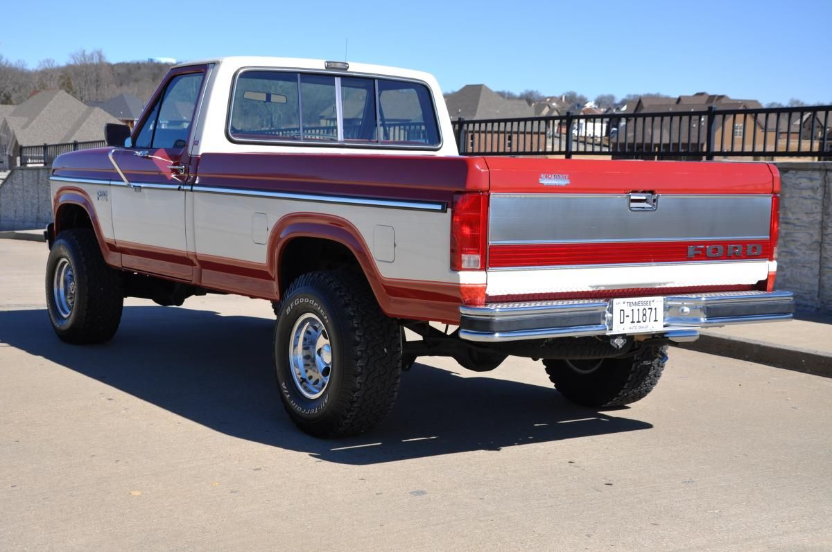 1980s f150 4x4 1985 ford f150 4x4 30000 actual miles sold