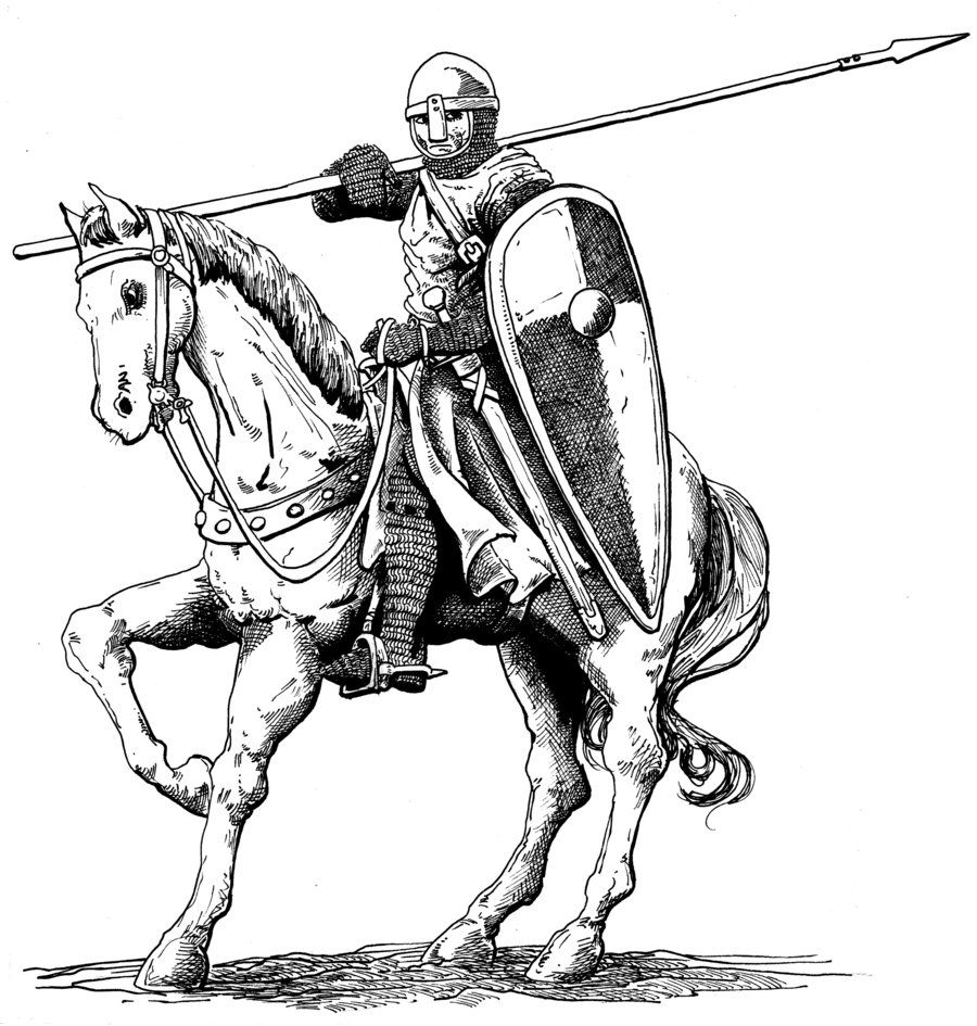 Medieval Knight Drawing  Google Search