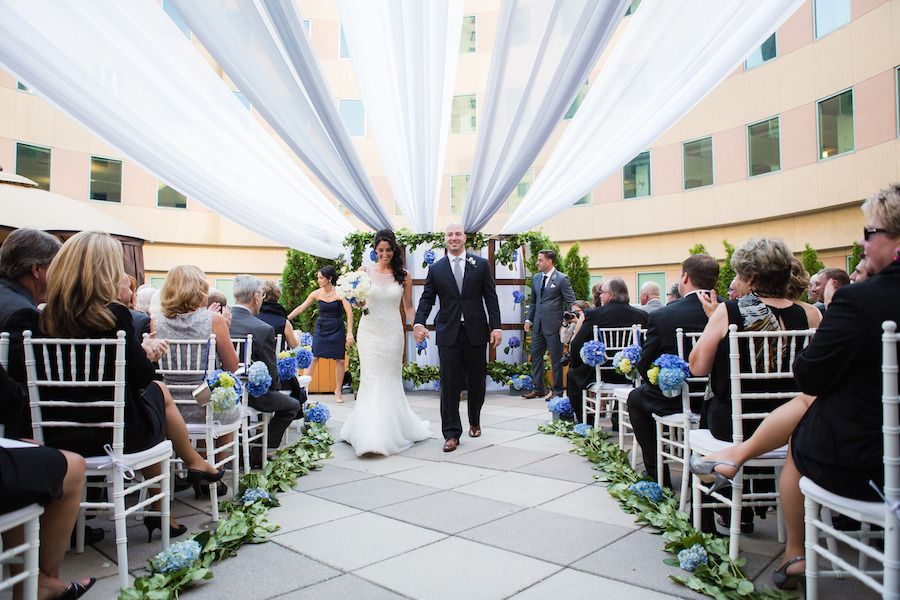 Boston Marathon Dream Wedding at Hyatt Regency Boston via Prudente Photography