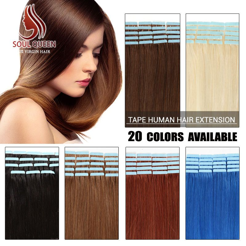 Aliexpress Buy Wholesale Remy Tape Hair Extensions 20pcslot