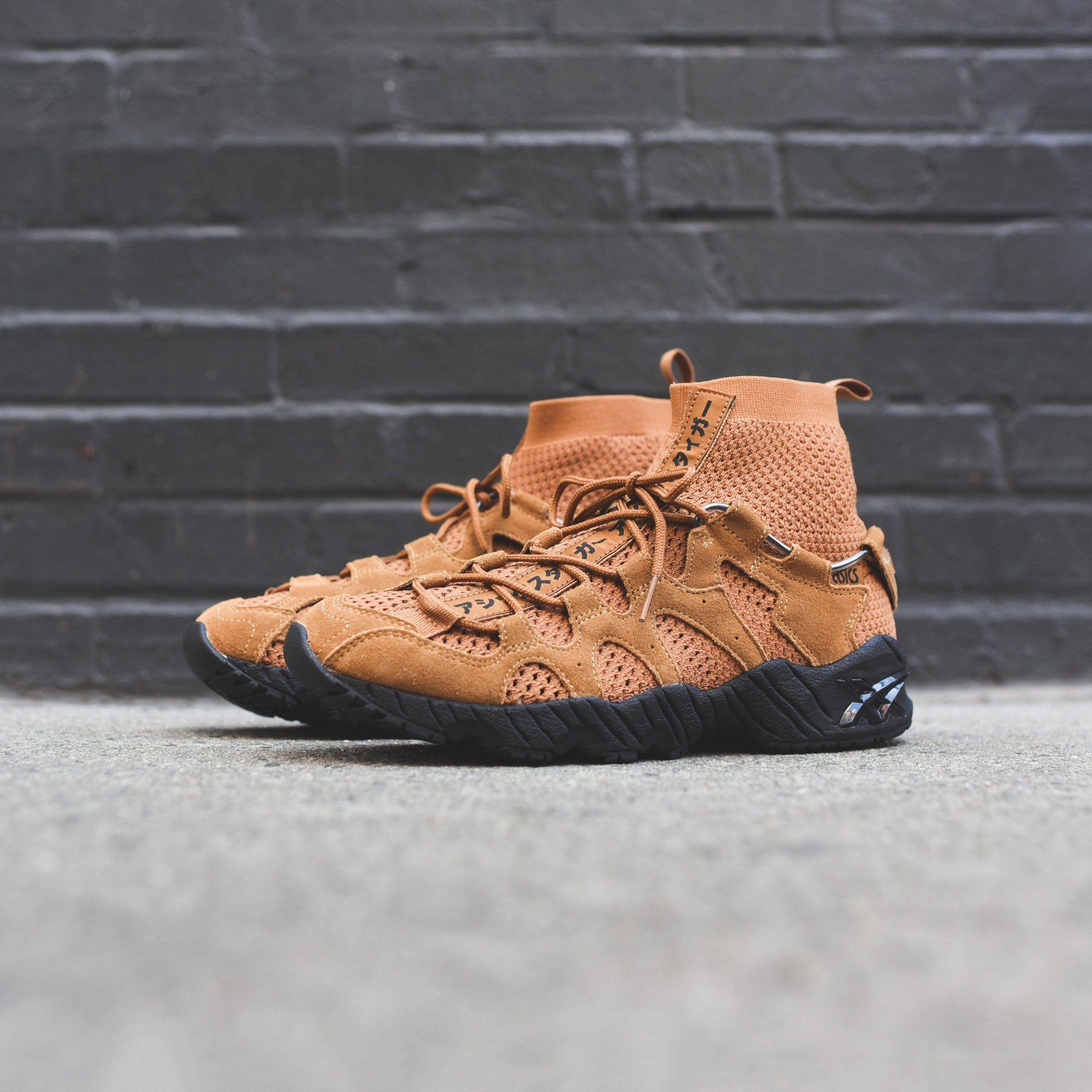 newest ea799 9292d Asics Gel-Mai Knit MT - Wheat / Black - 8   Fresh Sneakers ...