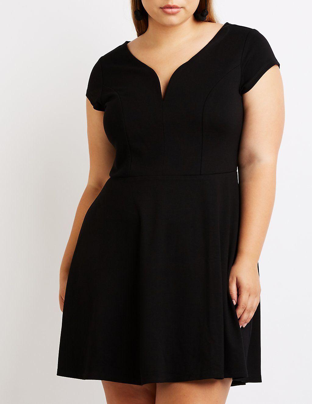 Plus Size Black Dresses Charlotte Russe