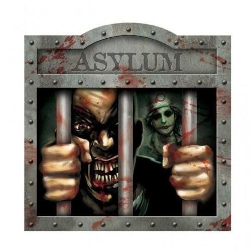 Amscan Sinister Surgery Asylum 2 Sided Cut Out Decorations (12 Pack