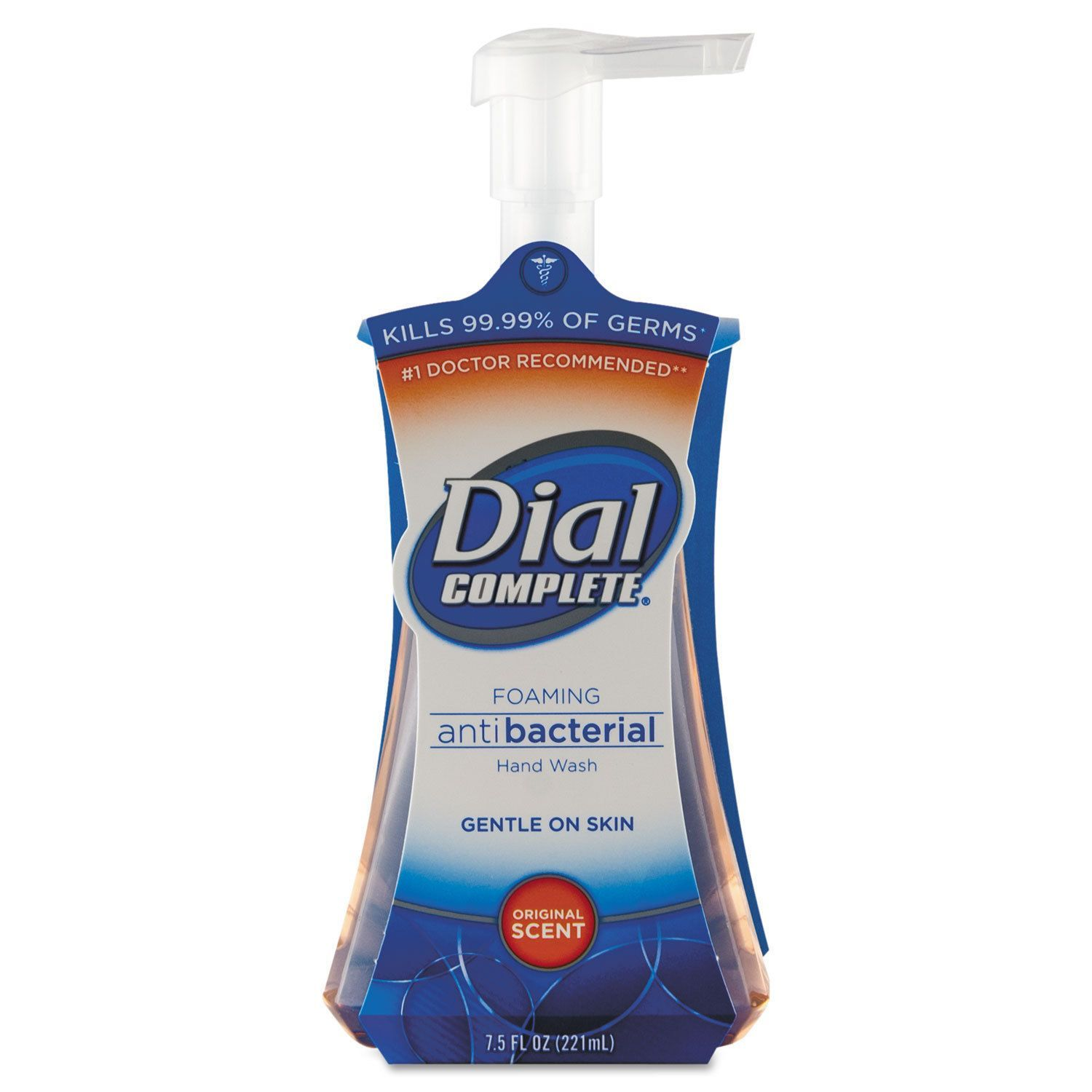 Dial Professional Antimicrobial Foaming Hand Soap Liquid Fresh
