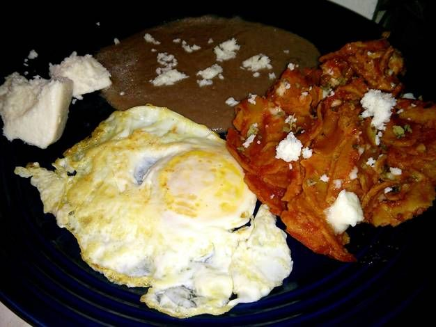 Chilaquiles (My style)
