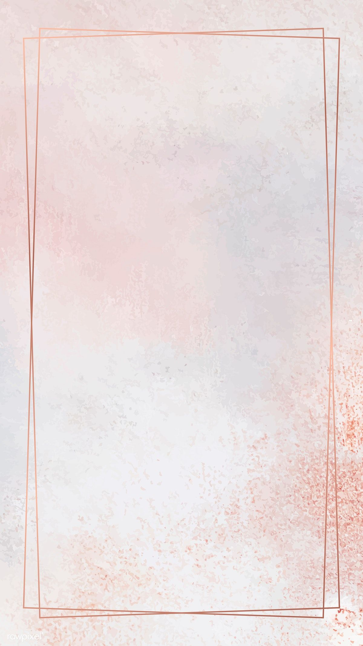 Download Premium Vector Of Rectangle Copper Frame On Pastel Mobile Phone Pastel Background Wallpapers Instagram Wallpaper Backgrounds Phone Wallpapers