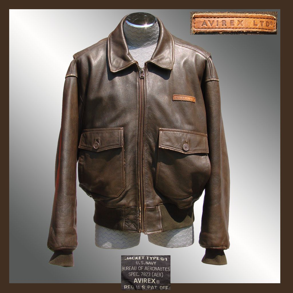 Flight Jacket G-1 - Americain pilote jacket - Corsair WW2-Coree ...