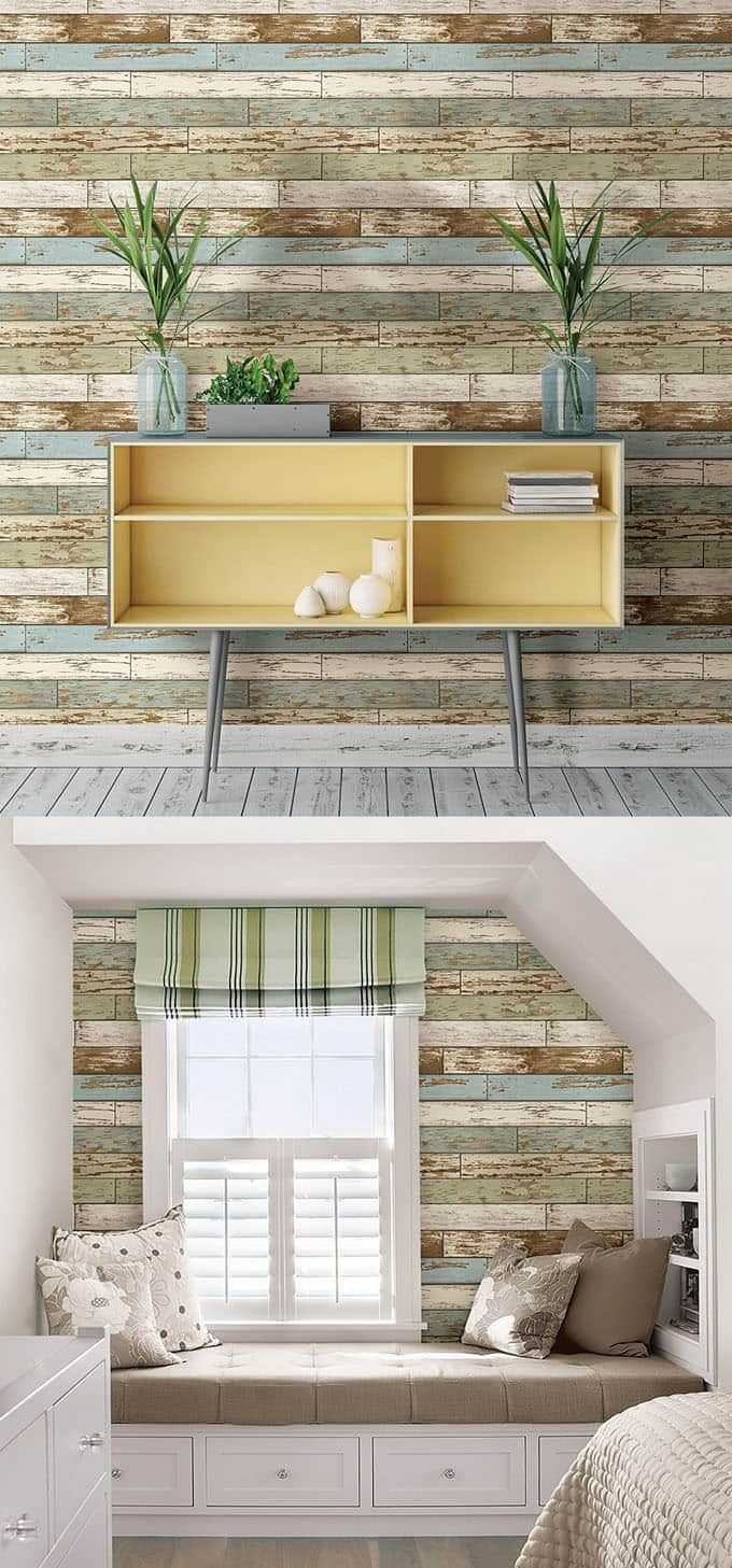 30 best diy shiplap wall and pallet wall tutorials and beautiful ideas for every room plus alternative methods to get the wood wall look easily