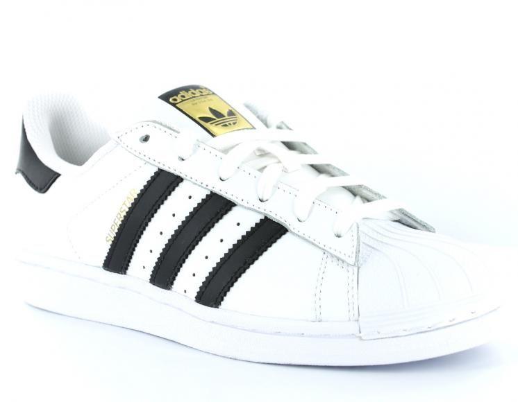 adidas superstar blanche et noir pas cher