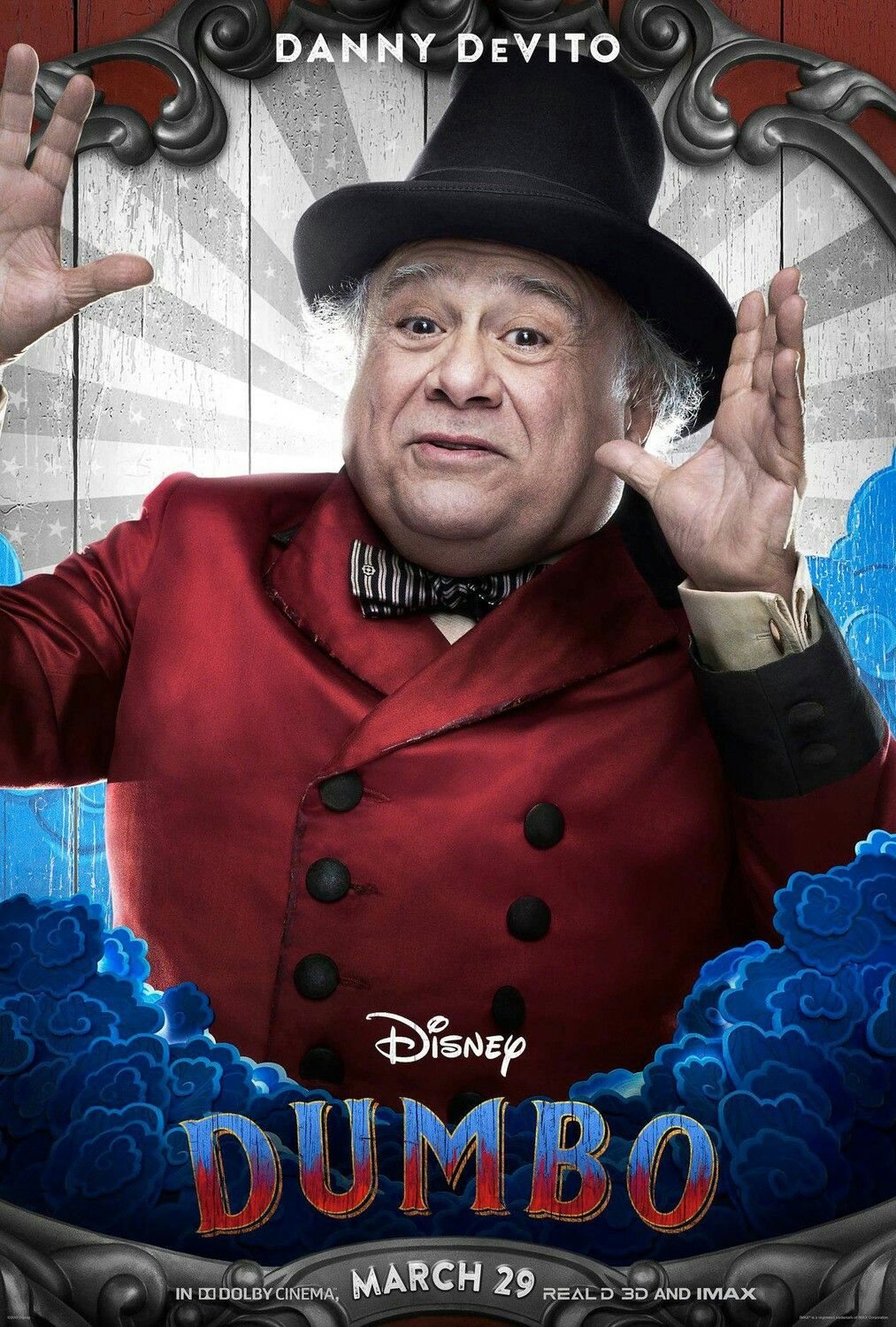New Character Posters For The Live Action Version Of Disney S