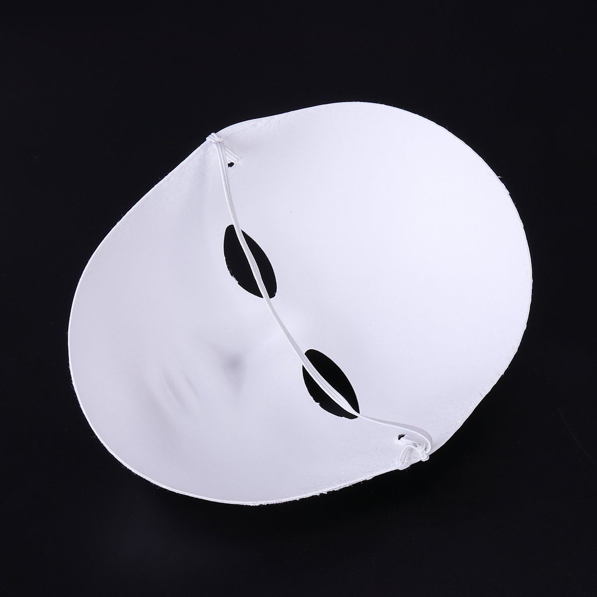 bestoyard 12pcs halloween mask female full face mask white diy mask