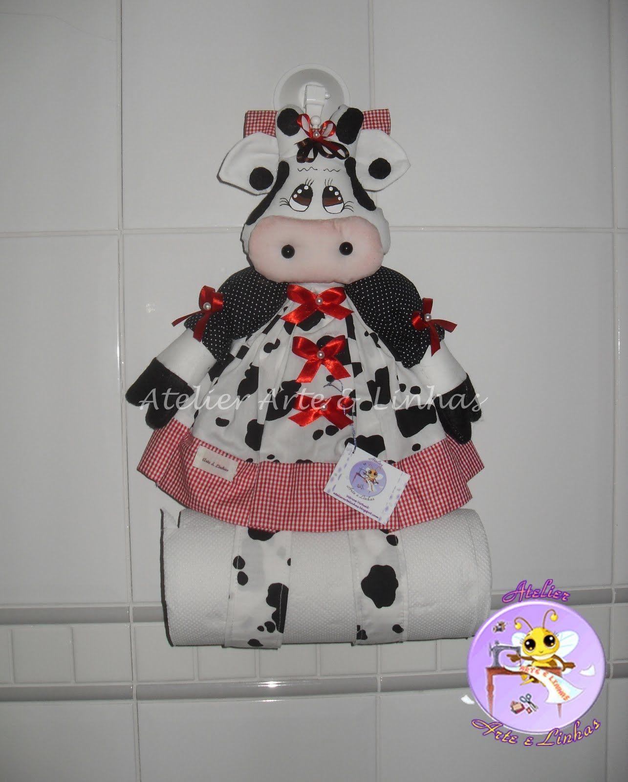 vaquita porta rollo | decoracion para cosina | Pinterest | Vaca ...
