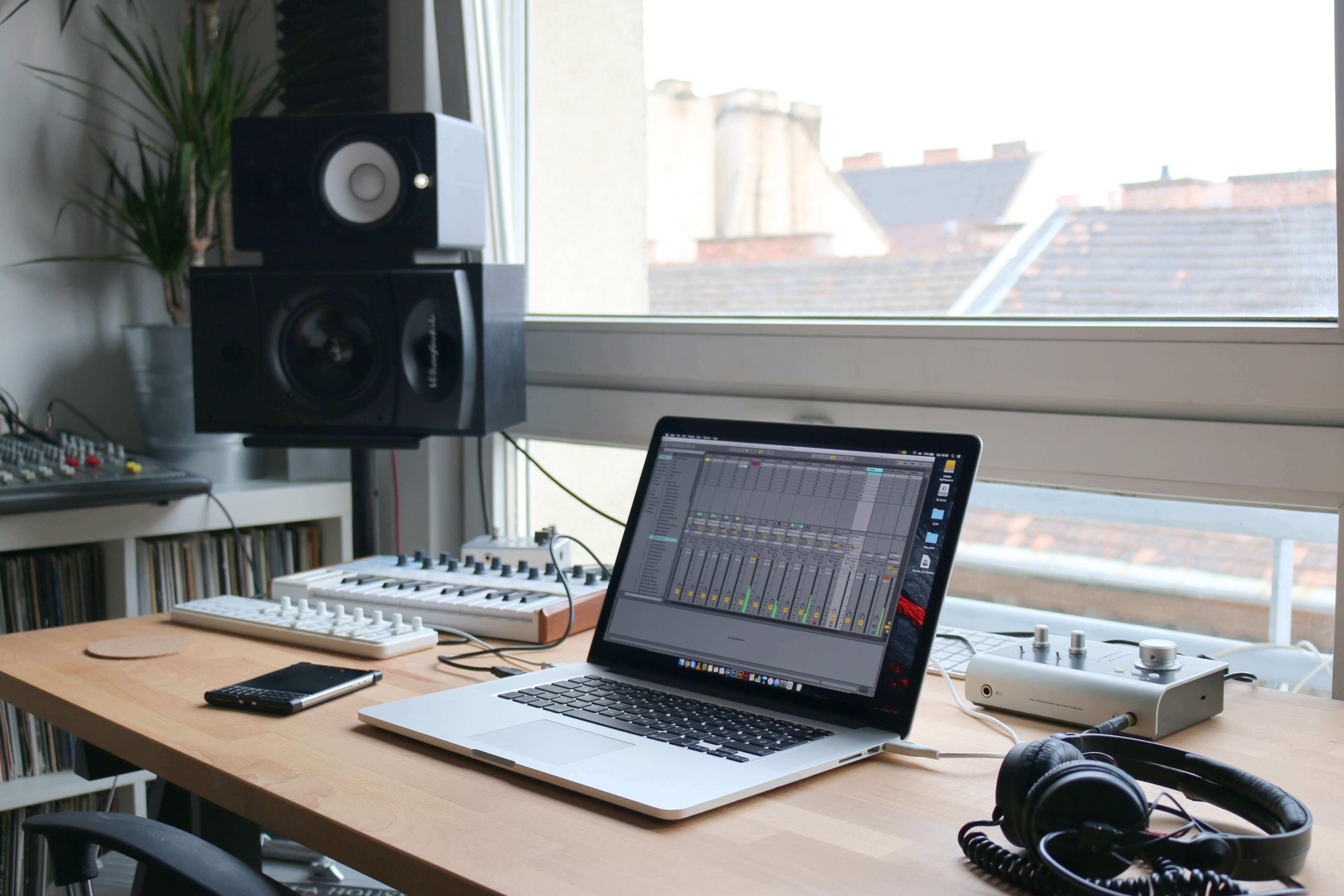 Programmi per creare musica Studio di registrazione