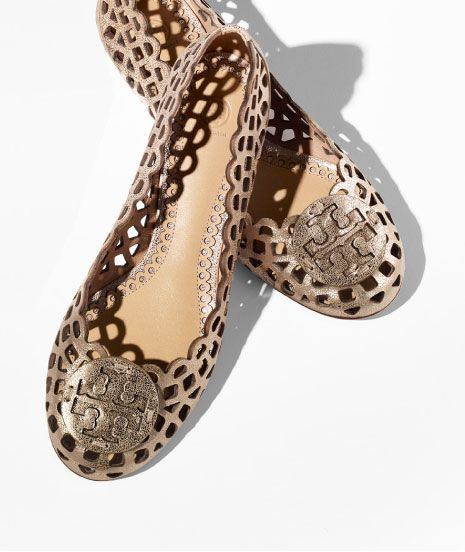 685d15eb74a9a Consider gold a neutral  the Tory Burch Mira Ballet Flat