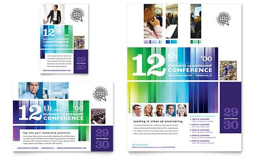Business leadership conference flyer ad template by stocklayouts business leadership conference flyer ad template by stocklayouts cheaphphosting Gallery