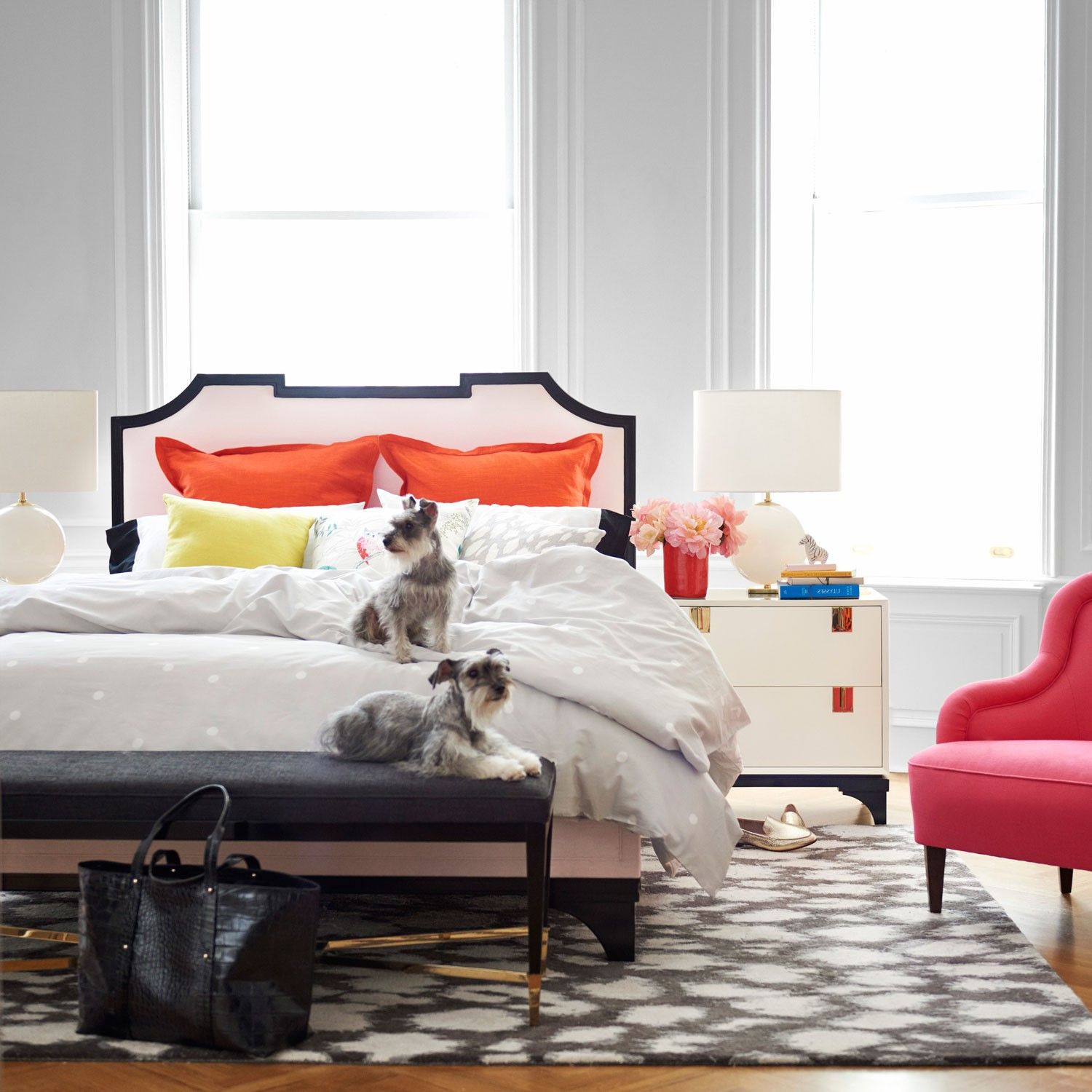 kate spade new york by jaipur gramercy leopard ikat liquorice hand tufted wool rug laylagrayce