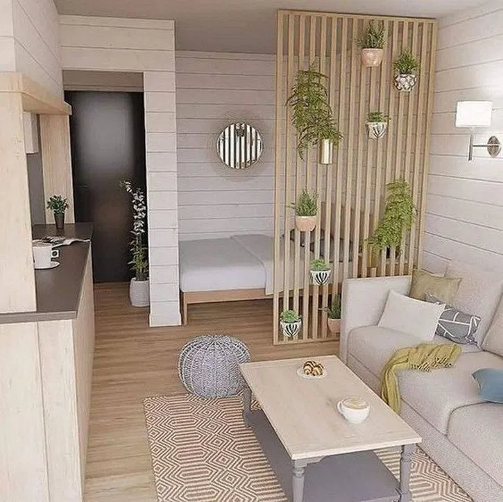 86 Impressive Studio Decoration Ideas To Apply Asap In 2020 Studio Apartment Decorating Small Apartment Decorating Apartment Design