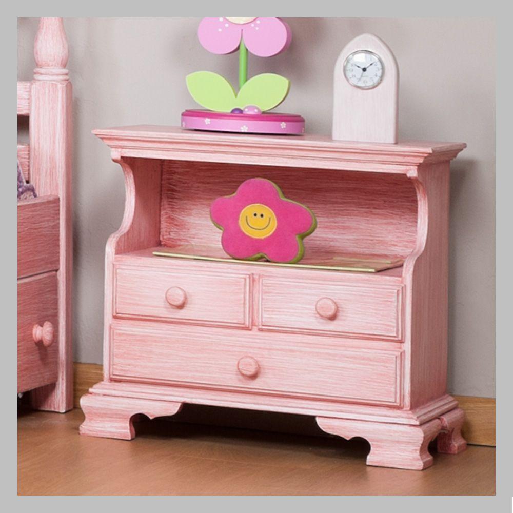 Mesa de noche rosada mnj 03 mesa de noche de nuestro - Mesas de noche modernas ...