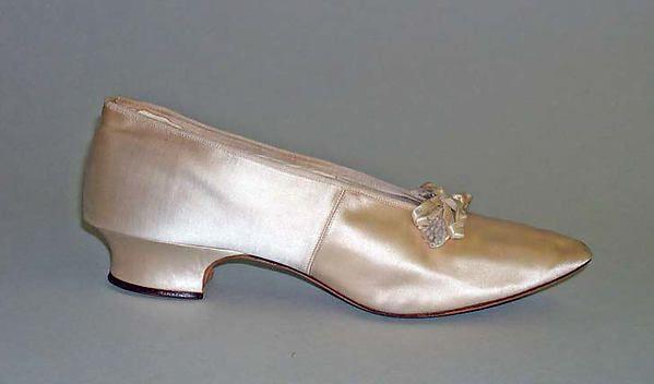 Slippers Designer: J. & J. Slater (American) Date: 1894 Culture: American Medium: leather