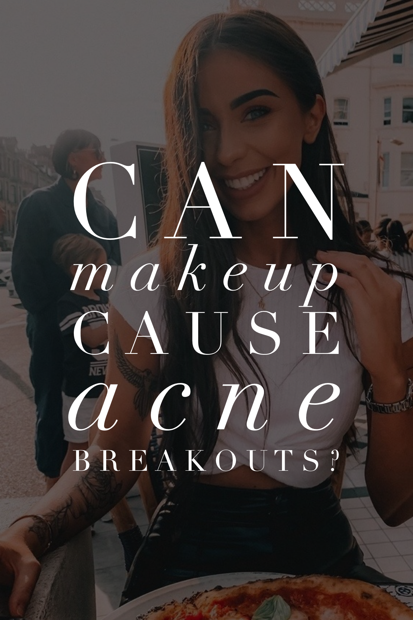 Can Makeup Cause Acne Breakouts? Acne breakout, Can
