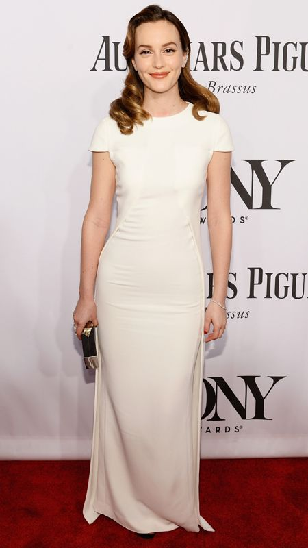 Leighton Meester at the Tony Awards.