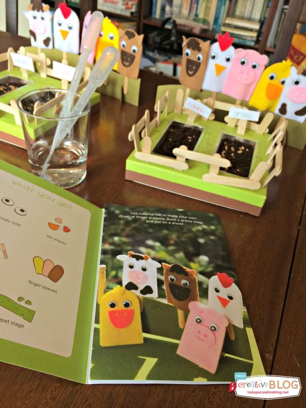 Crafting with Kids  | Kiwi Crate | TodaysCreativeBlog.net