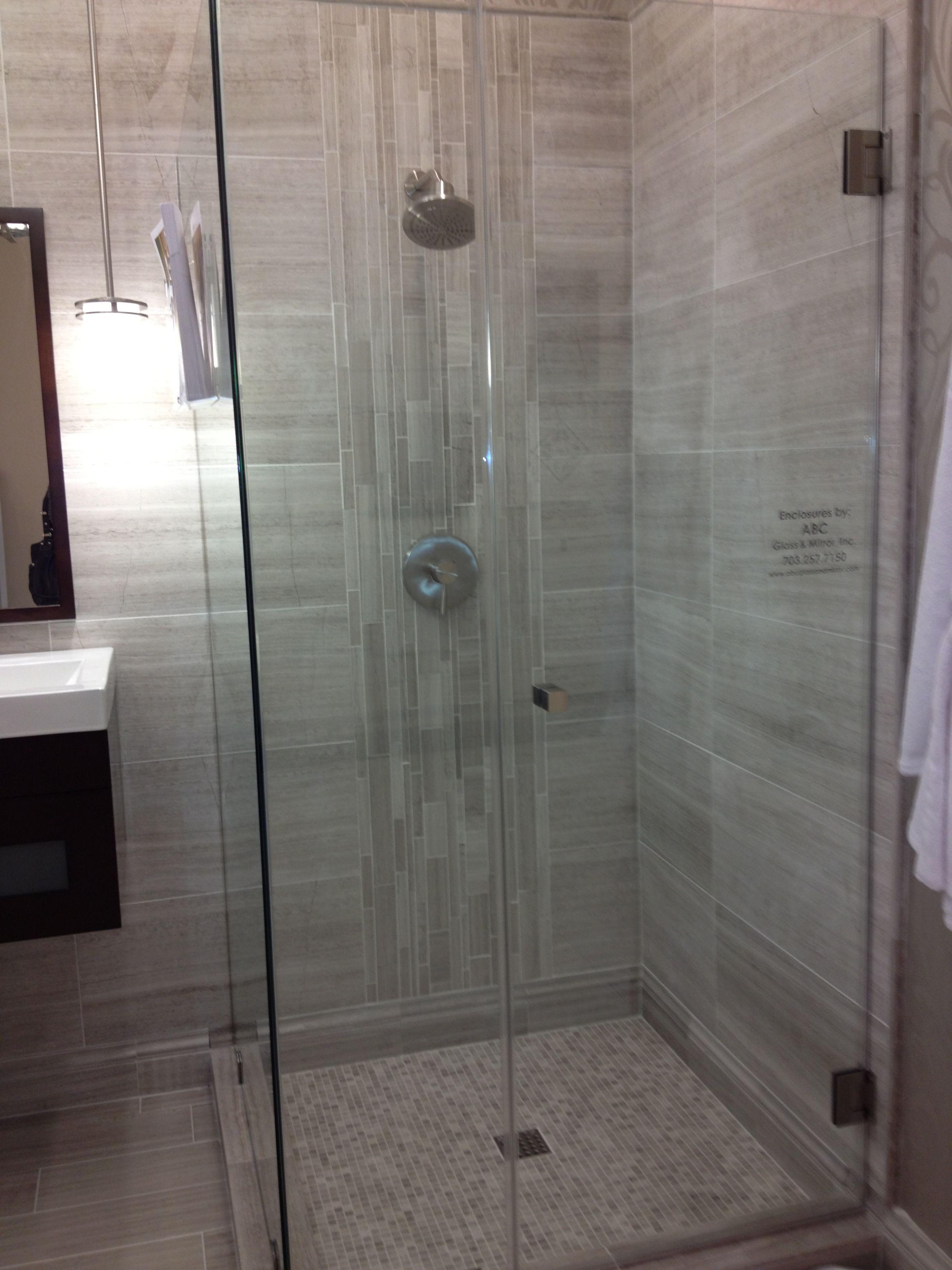 Vertical tile shower wall, bliss | Room ideas | Pinterest | Tile ...